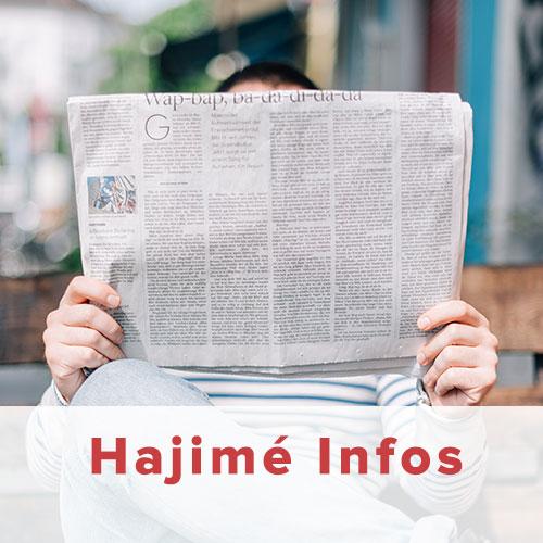 Nouveau journal Hajime Infos Judo Club Saint Barthélemy d'Anjou