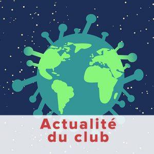 Cours suspendus Judo Club Saint Barthelemy d'Anjou COVID