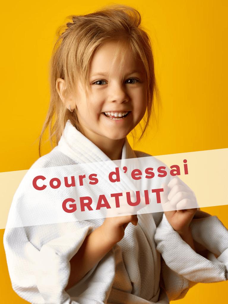 Cours d'essai gratuit judo club saint barthélemy d'anjou