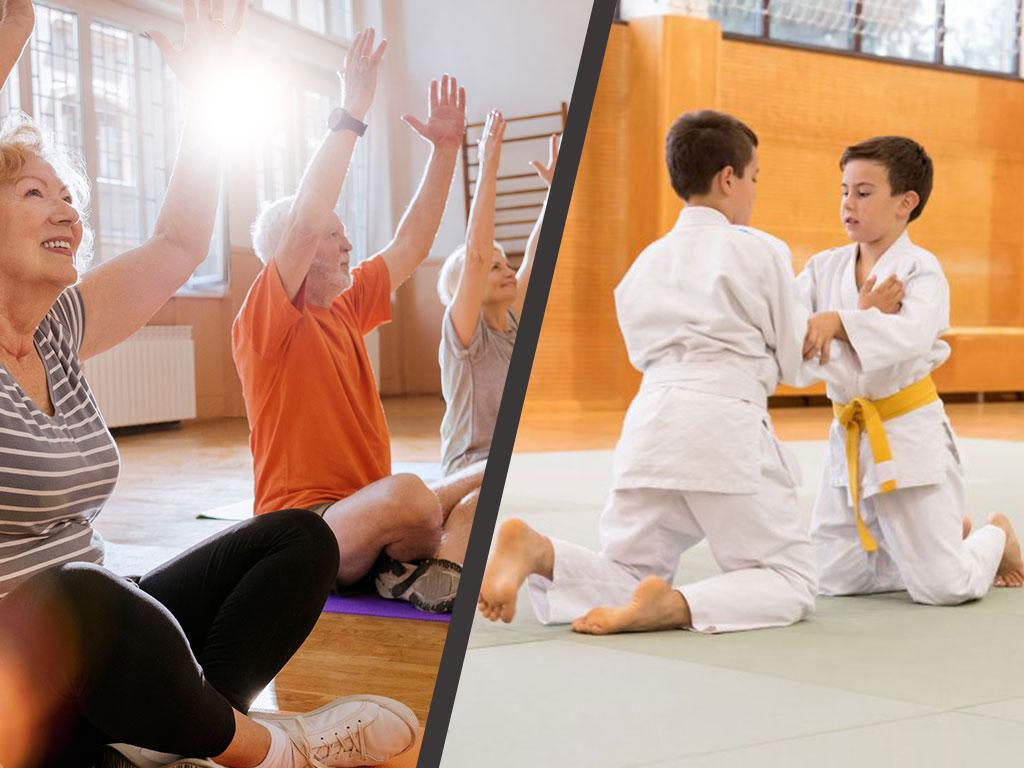 Plusieurs disciplines Judo club saint barthélemy d'anjou